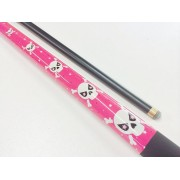 PINK SKULL Pool Snooker Billiard Cue 57""