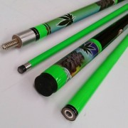 Formula 2 Piece Composite Cue - Illusion Herbs 57""